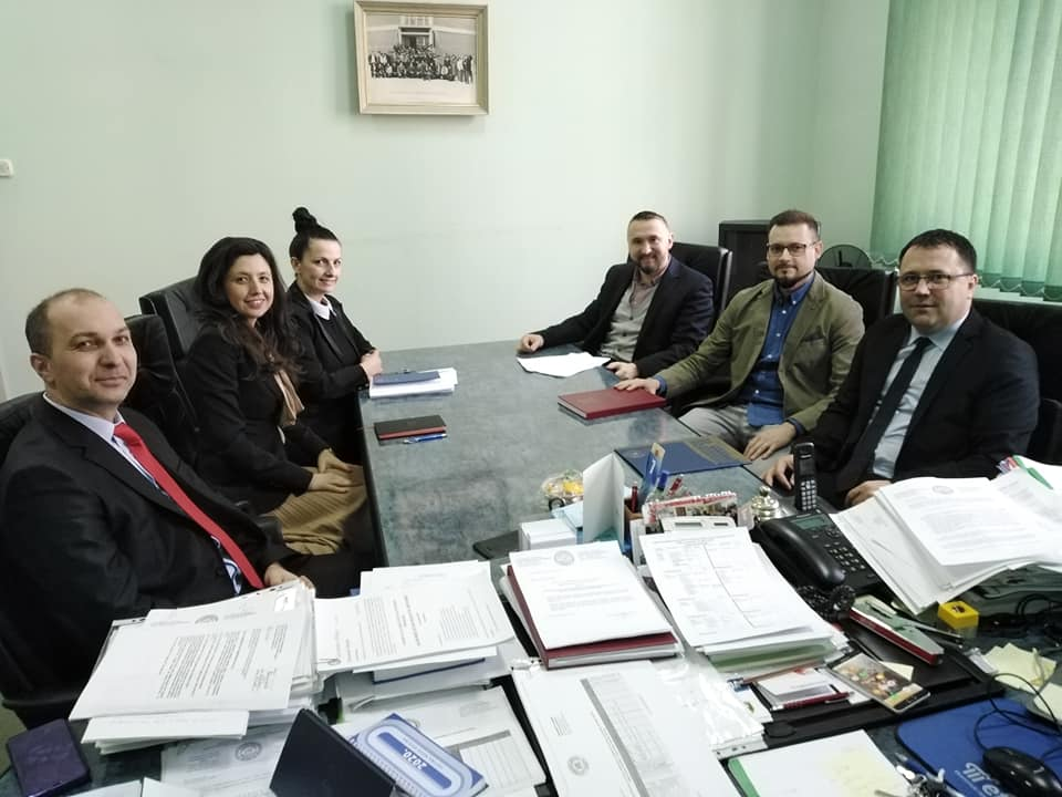 Sastanak delegacija Ekonomskog fakulteta u Bihaću i ekonomskog fakulteta u Osijeku