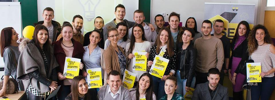Studenti ekonomskog fakulteta u bihaću selfup kampanja